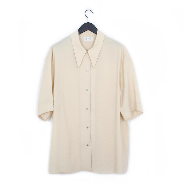 Lemaire maxi shirt biscuit