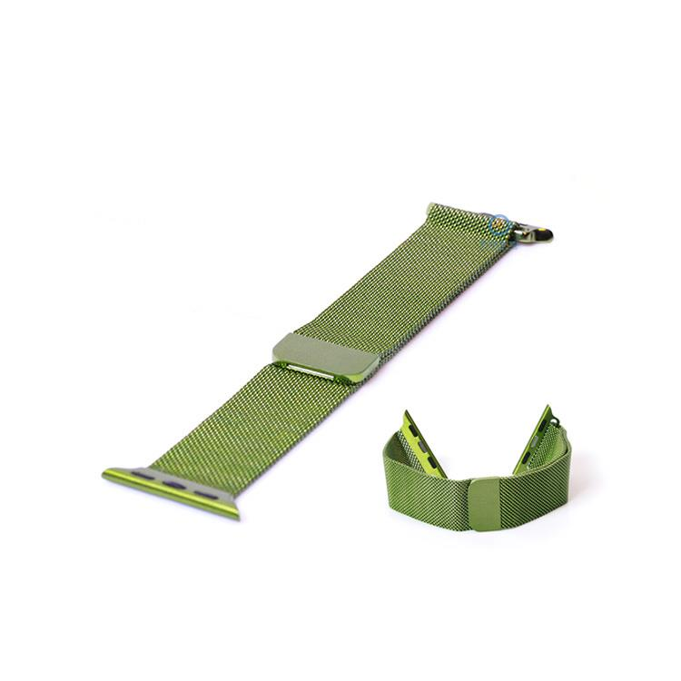 Apple Watch horlogeband milanees groen (42mm)