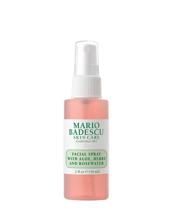 Facial Spray with Aloe, Herbs and Rosewater - 59 ml