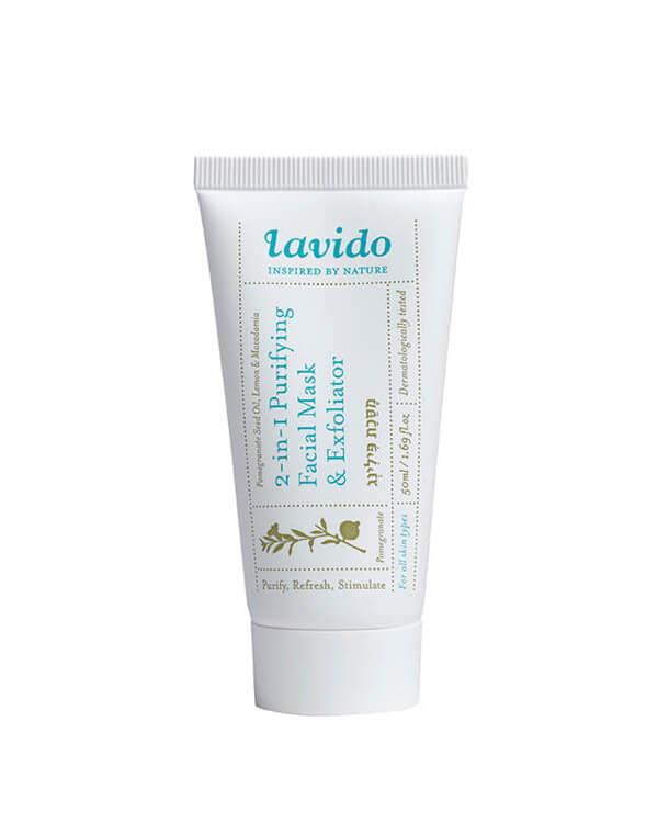 Lavido - 2-in-1 Purifying Mask & Exfoliator - 50 ml