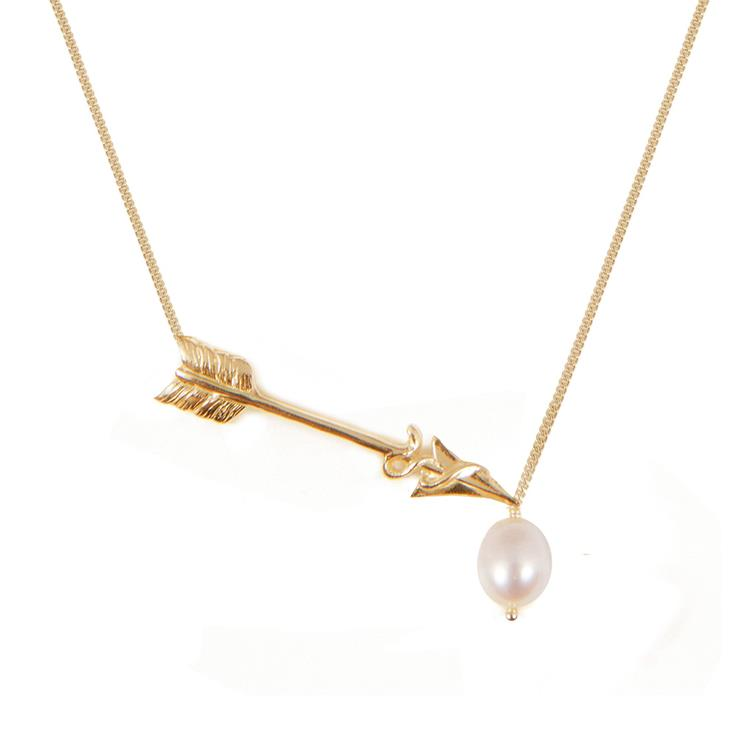 Wouters & Hendrix necklace cupid's arrow freshwater pearl