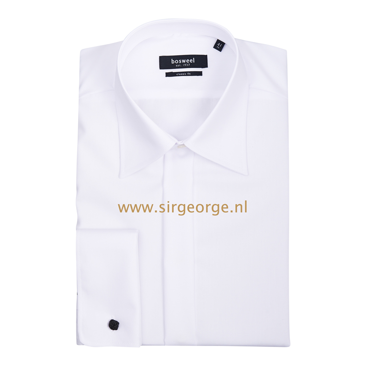 Overhemd Wit.Jacquet Smoking Kostuum Overhemd Wit 100 Katoen