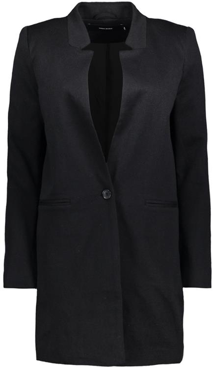 vmjune long blazer Black