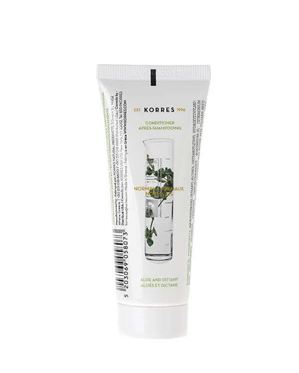 Korres - Aloe & Dittany Conditioner - 40 ml