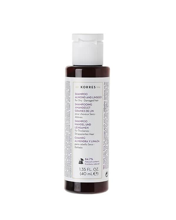 Korres - Almond & Linseed Shampoo - 40 ml