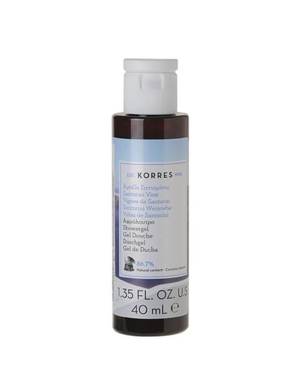 Korres - Santorini Showergel - 40 ml