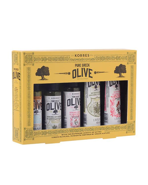 Pure Greek Olive Collection - 5 x 40 ml