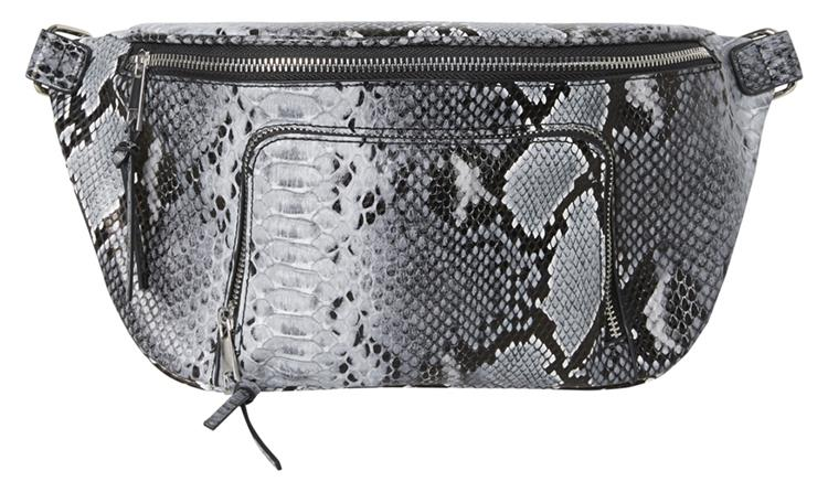 Pcjanna bum bag Black/grey snake