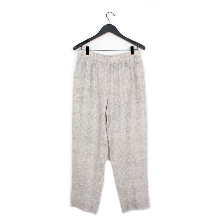 Raquel Allegra pull on pant silver