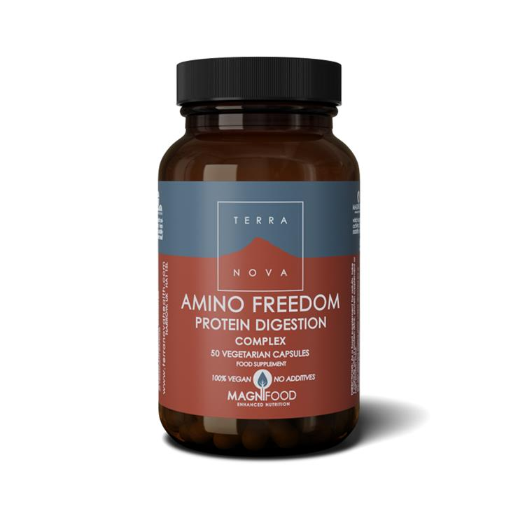 Amino Freedom Protein Digestion Complex  (50 capsules)