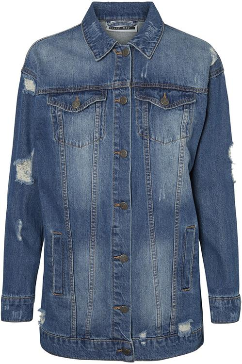 Nmagie l/s denim jacket medium blue denim