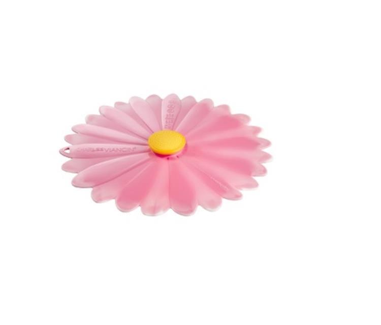 Charles Viancin deksel 20 cm - daisy roze