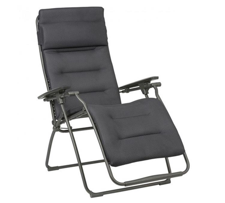 Lafuma Futura Be Comfort relaxstoel - dark grey