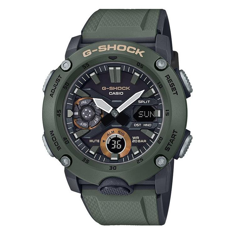 GA-2000-3AER G-Shock - Carbon Core Guard