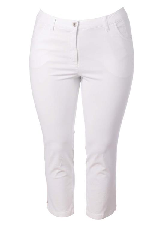 KJ brand  7/8  broek Betty CS 29750-6023 wit