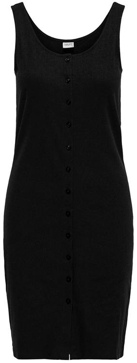 Jdynevada treats s/l button dress Black