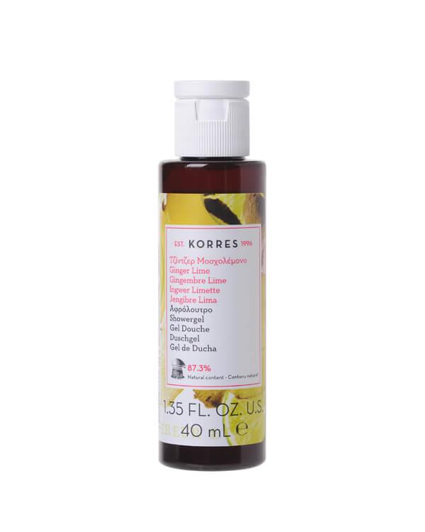 Korres - Ginger Lime Showergel - 40 ml