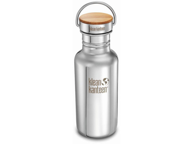 Klean Kanteen 18Oz Reflect /Stainless Uni Bamboo Cap Thermofles
