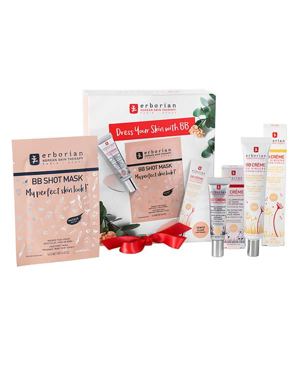 Erborian - Dress Your Skin With BB Clair - 45 ml + 15 ml + 14 g