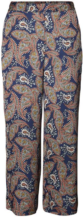 Vmpaislet h/w wide pant Night sky