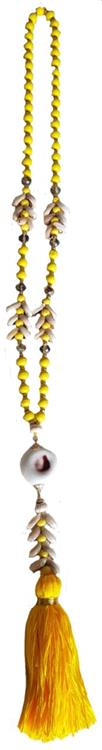 B-fashion ketting Yellow