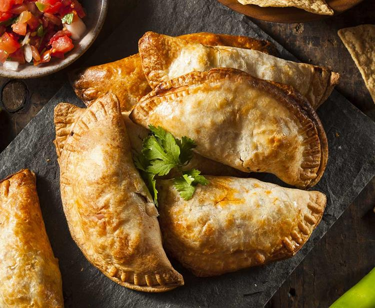 Empanadillas Chili sin Carne