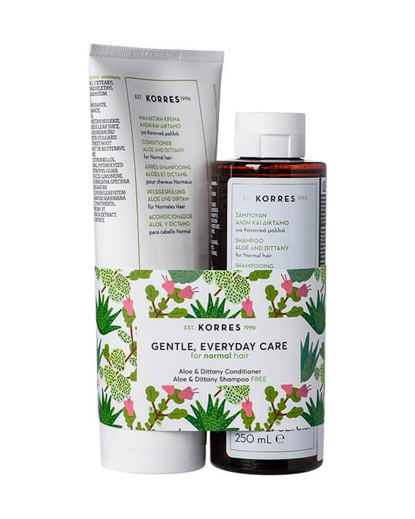 Korres - Gentle, Everyday Care set -  250 ml + 200 ml