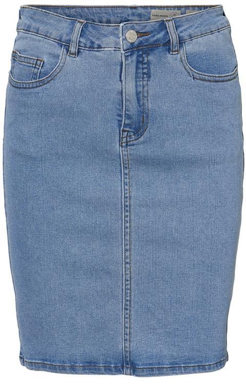 573f65d759 Vmhot nine hw dnm pencil skirt noos Light blue denim. Zoom