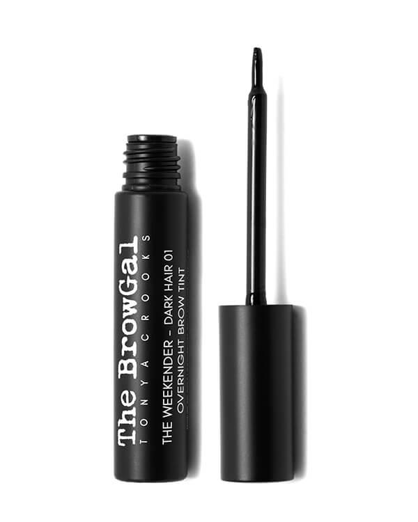 The BrowGal - The Weekender Overnight Brow Tint 01 Dark Hair - 8 ml