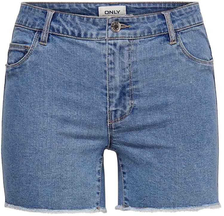 Onlsun reg shorts light blue denim