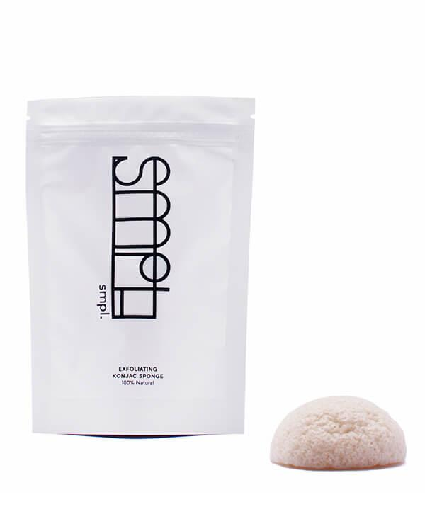 SMPL - Exfoliating Konjac Sponge - 1 pc