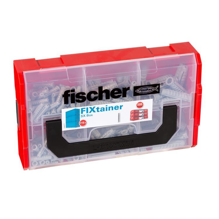FISCHER FIXtainer SX pluggen Box 210- delig