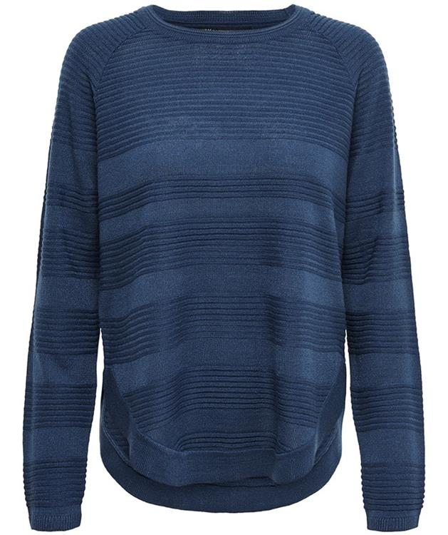 Onlcaviar l/s pullover knt Gibraltar sea