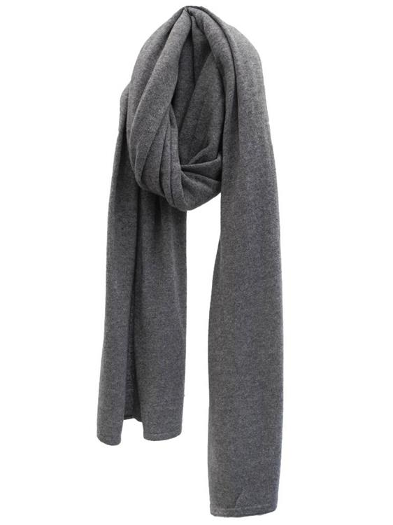Cosy Chic sjaal - Mid Grey Melee