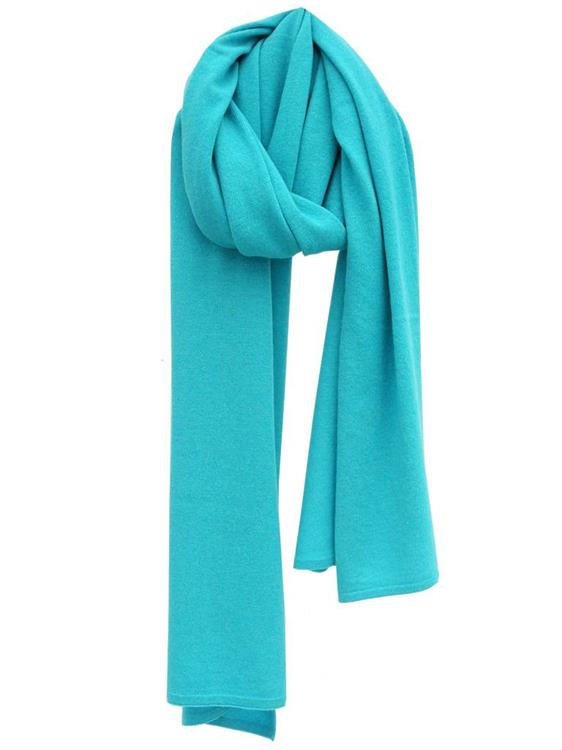 Cosy Chic sjaal - Turquoise