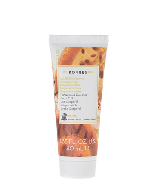 Korres - Bergamot Pear Body Milk - 40 ml