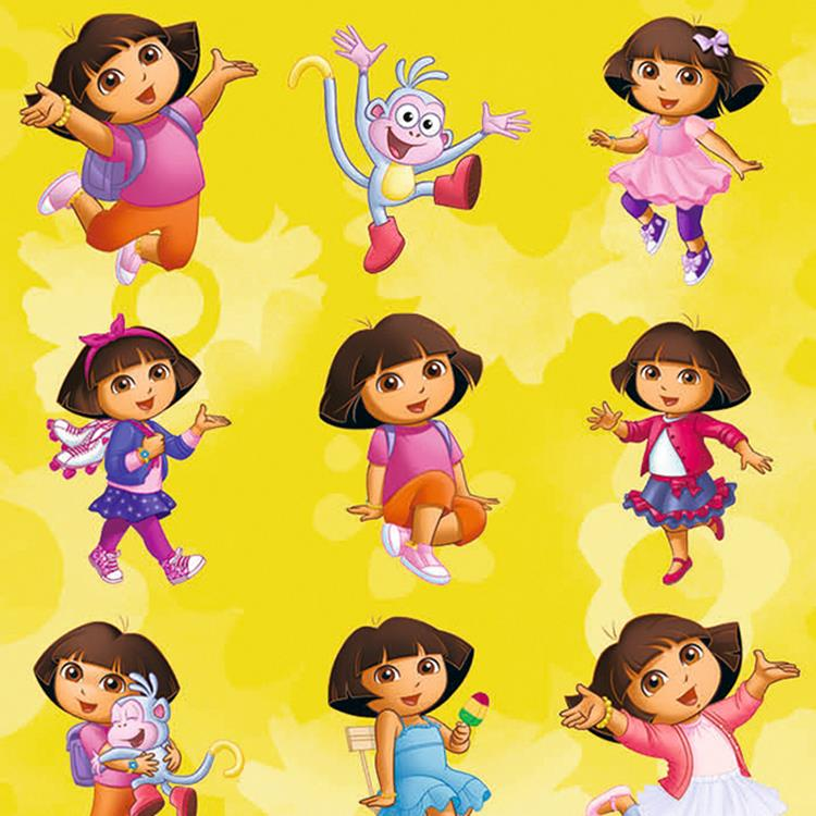 Klein pak beloningssticker Dora the explorer