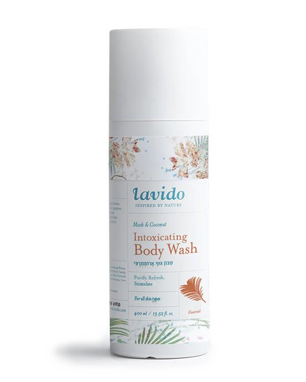 Lavido - Intoxicating Body Wash Musk & Coconut - 400 ml
