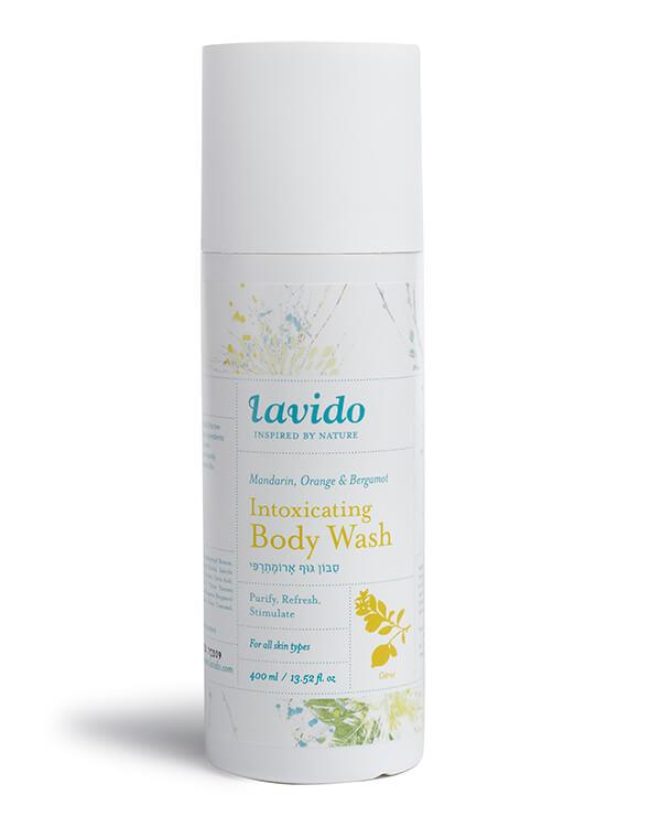 Lavido - Intoxicating Body Wash Mandarin, Orange & Bergamot - 400 ml