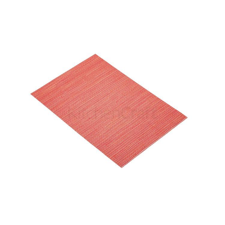 KitchenCraft placemat geweven 30x45 cm - rood