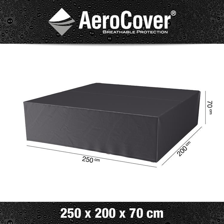 AeroCover loungesethoes rechthoek 200x250x70 cm - antraciet