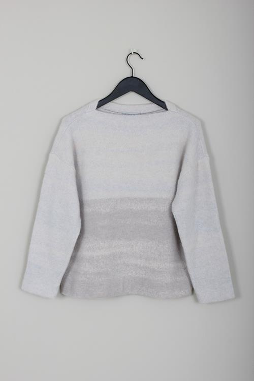 Dusan jacquard sweater moon dust