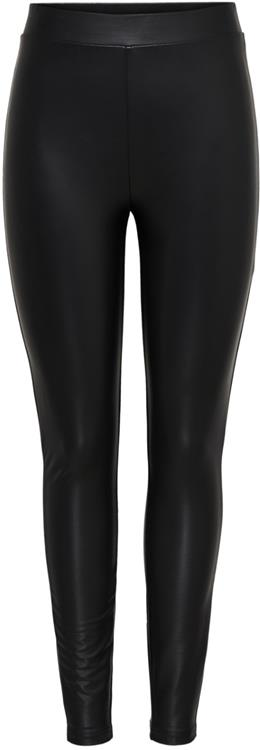 Onlcool coated legging noos Black