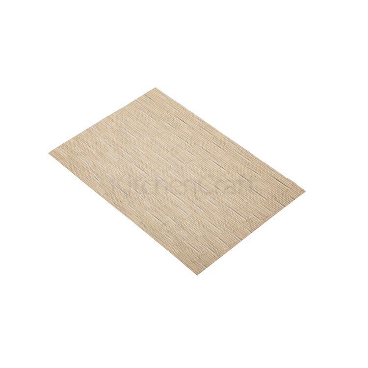 KitchenCraft placemat geweven 30x45 cm - beige mix