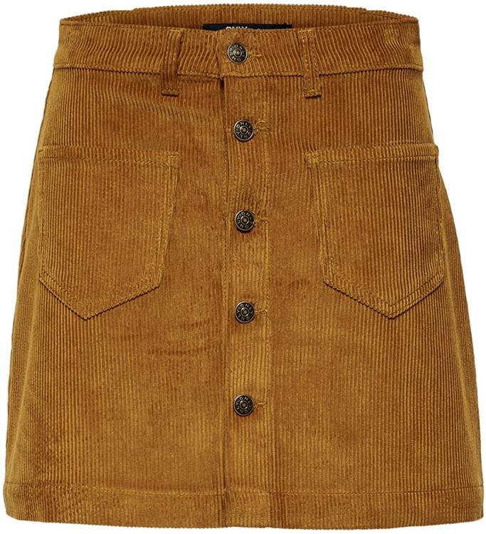 Onlamazing hw corduroy skirt noos Rustic brown