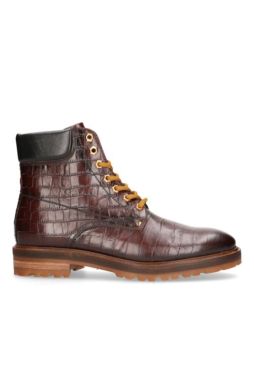 Veterboot leer crocoprint
