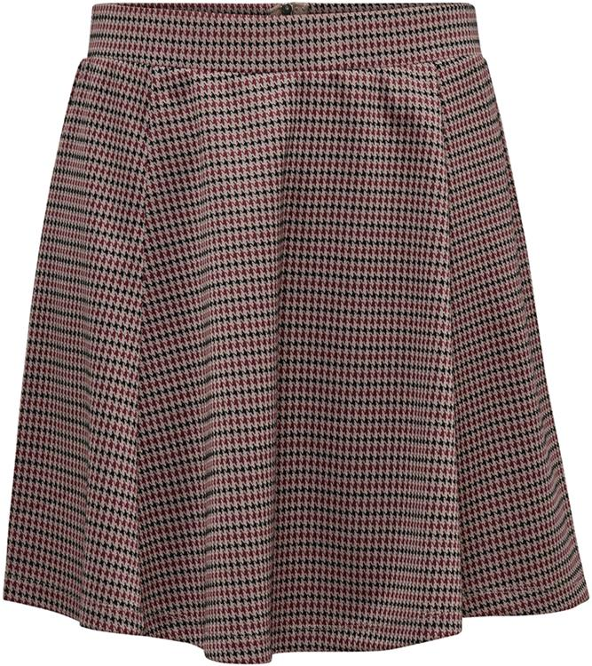 Jdyhaley skirt jrs Natural/checks