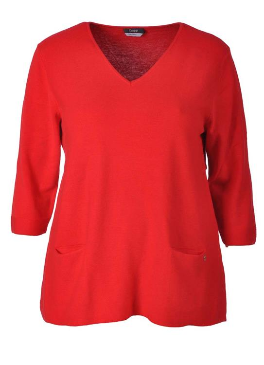 Frapp pullover 1904061 Rood