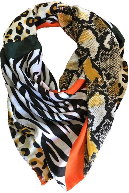B-fashion scarf  Oranje