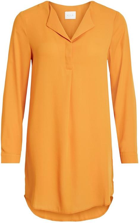 Vilucy l/s tunic Golden oak